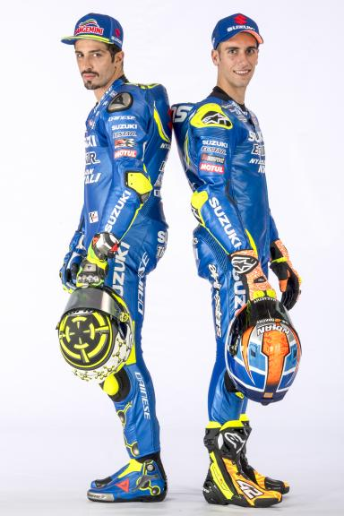 Andrea Iannone, Alex Rins, Team Suzuki Ecstar, 2018 launch