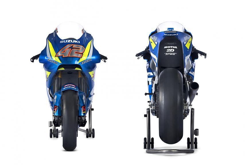 Alex Rins Suzuki GSX-RR 2018, Team Suzuki Ecstar, 2018 launch