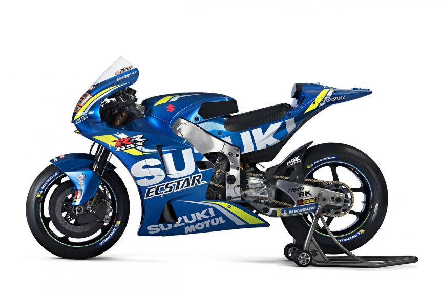Alex Rins Suzuki GSX-RR 2018, Team Suzuki Ecstar, 2018 launch