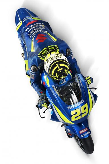 Andrea Iannone, Team Suzuki Ecstar, 2018 launch
