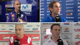 2018 is underway so motogp.com caught up with some of the paddock's Team Managers on Day 1 in Malaysia