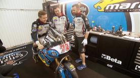L'elvetico, protagonista e veterano della classe intermedia, fa l'esordio in MotoGP™ con i colori del team EG 0,0 Marc VDS