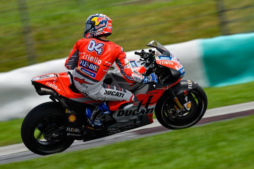 Andrea Dovizioso, Ducati Team, Sepang MotoGP™ Official Test