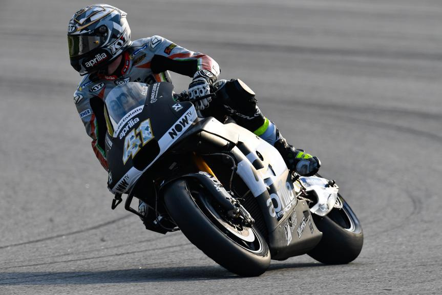 Aleix Espargaro, Aprilia Racing Team Gresini, Sepang MotoGP™ Official Tes