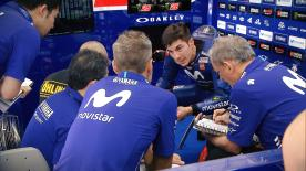 Day 2 of MotoGP™'s first pre-season test saw Maverick Viñales leading teammate Valentino Rossi at the end of the day