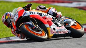 We take a look at riders different styles through the opening corners of the Sepang International Circuit in Malaysia
