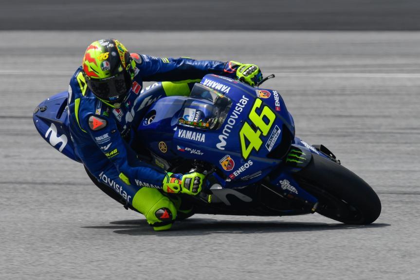 Valentino Rossi, Movistar Yamaha MotoGP, Sepang MotoGP™ Official Test
