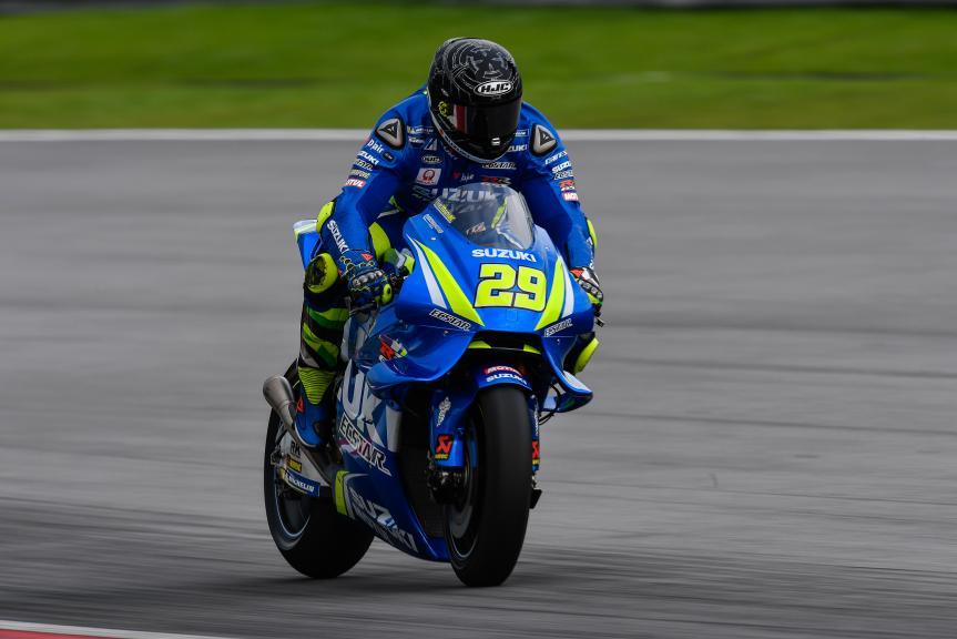 Andrea Iannone, Team Suzuki Ecstar, Sepang MotoGP™ Official Test