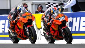 Having already developed a competitive bike in only its first year in MotoGP™, KTM is looking to take a step up and fight for podium places in 2018!