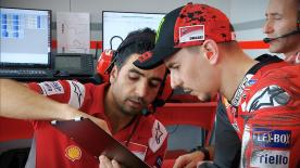 The final day of testing in Malaysia saw Jorge Lorenzo from Dani Pedrosa at the top of the timesheets