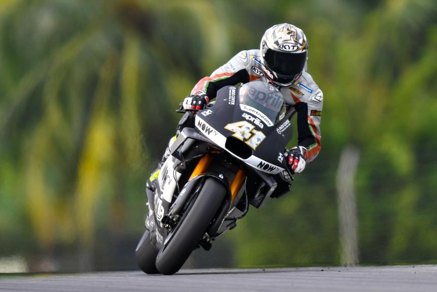 Aleix Espargaro, Aprilia Racing Team Gresini, Sepang MotoGP™ Official Test