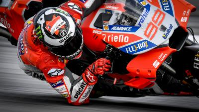 What do the riders think about Lorenzo's flying lap at Sepang?