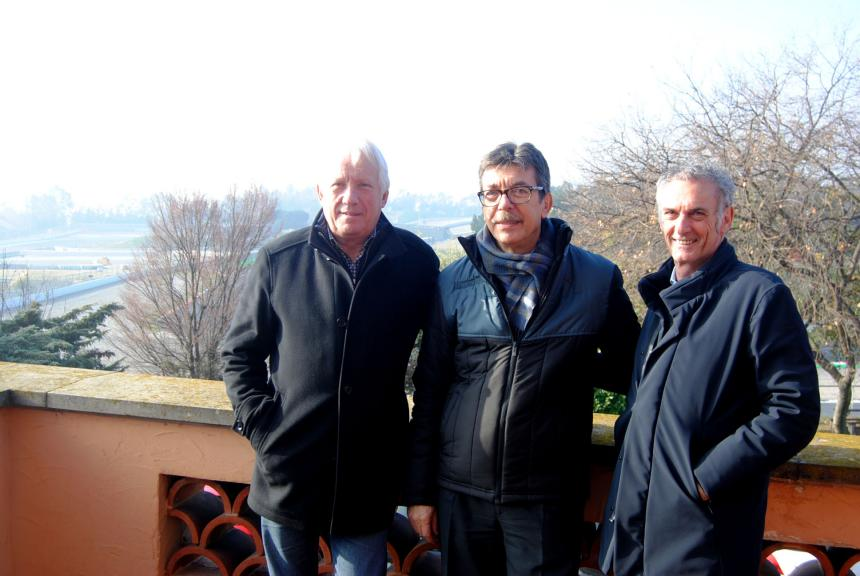 Charlie Whiting y Franco Uncini