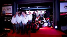 The Italian outfit revealed their 2018 livery and rider lineup for the 2018 Moto2™ season