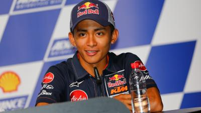 Khairuddin returns to Moto2™ in 2018