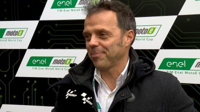 Capirossi explains the technical side of MotoE™