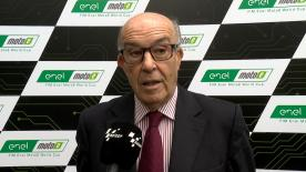 CEO of Dorna Sports, Carmelo Ezpeleta, explains the new MotoE™ World Cup and how it will be pioneering for the future
