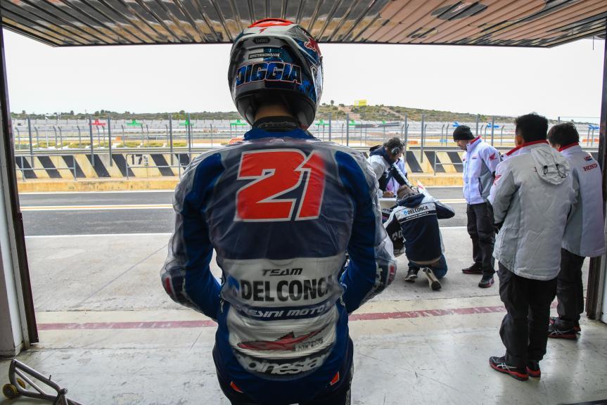 Fabio Di Giannantonio, Del Conca Gresini Moto3, Valencia Moto2 & Moto3 Official Test