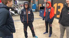 The Portuguese rider talks about his rivalry with his teammate, Brad Binder
