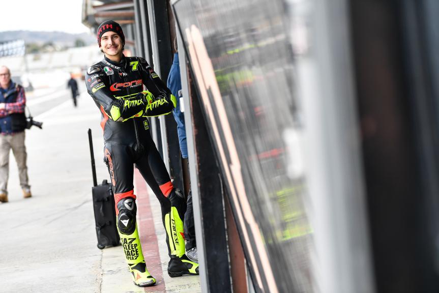Lorenzo Baldassari, Valencia Moto2 &Moto3 Official Test