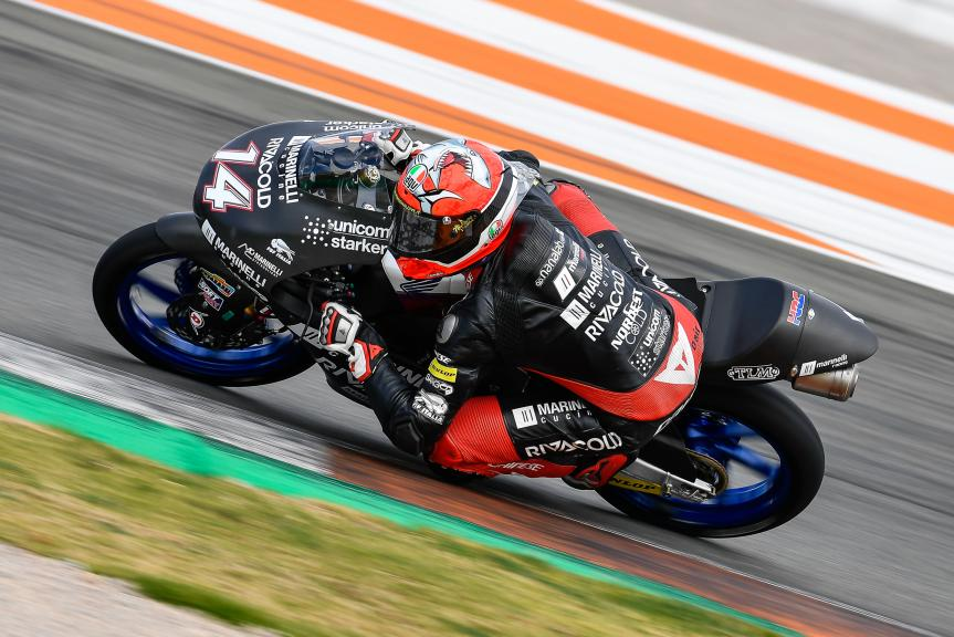 Tony Arbolino, Marinelli Snipers Team, Valencia Moto2 &Moto3 Official Test