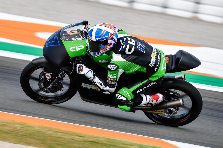 John Mcphee, CIP - Green Power, Valencia Moto2 &Moto3 Official Test