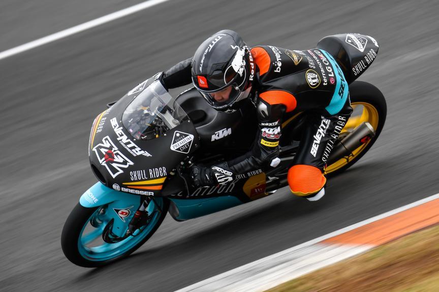 Kazuki Masaki, RBA BOE Skull Rider Team, Valencia Moto2 & Moto3 Official Test