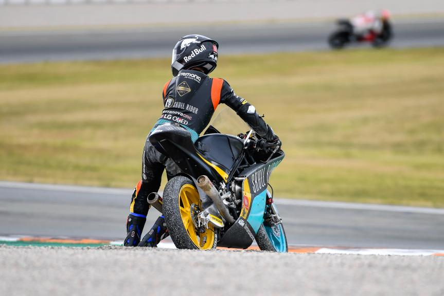 Kazuki Masaki, RBA BOE Skull Rider Team, Valencia Moto2 &Moto3 Official Test