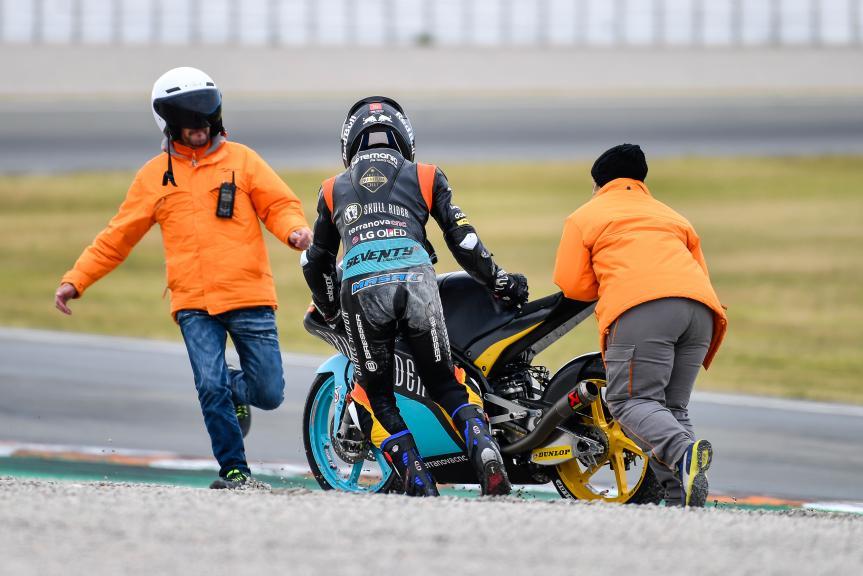 Kazuki Mazaki, RBA BOE Skull Rider Team, Valencia Moto2 &Moto3 Official Test