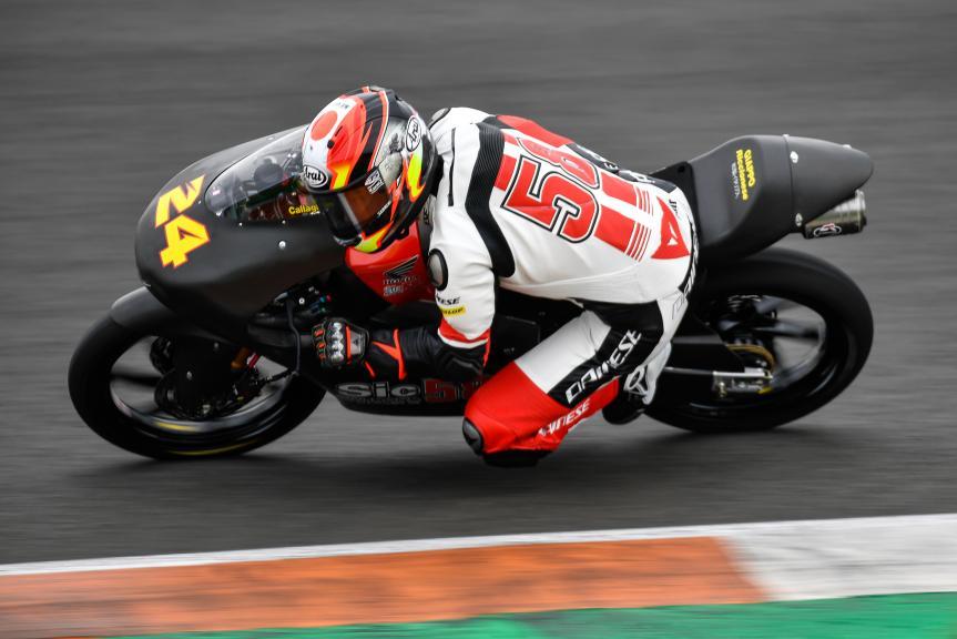 Tatsuki Suzuki, SIC58 Squadra Corse, Valencia Moto2 &Moto3 Official Test