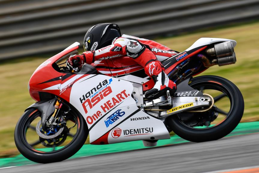 Kaito Toba, Honda Team Asia, Valencia Moto2 &Moto3 Official Test