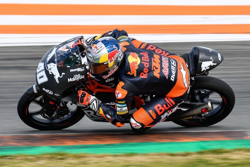 Darryn Binder, Valencia Moto2 &Moto3 Official Test