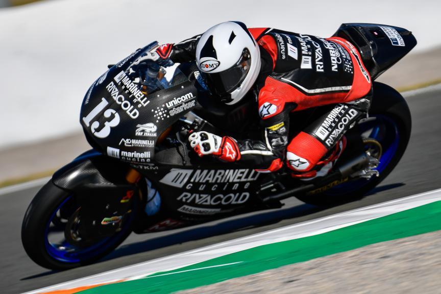 Romano Fenati, Marinelli Snipers Team, Valencia Moto2 &Moto3 Official Test