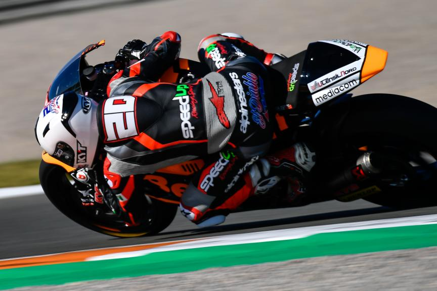 Fabio Quartararo, Beta Tools Speed Up Racing, Valencia Moto2 &Moto3 Official Test