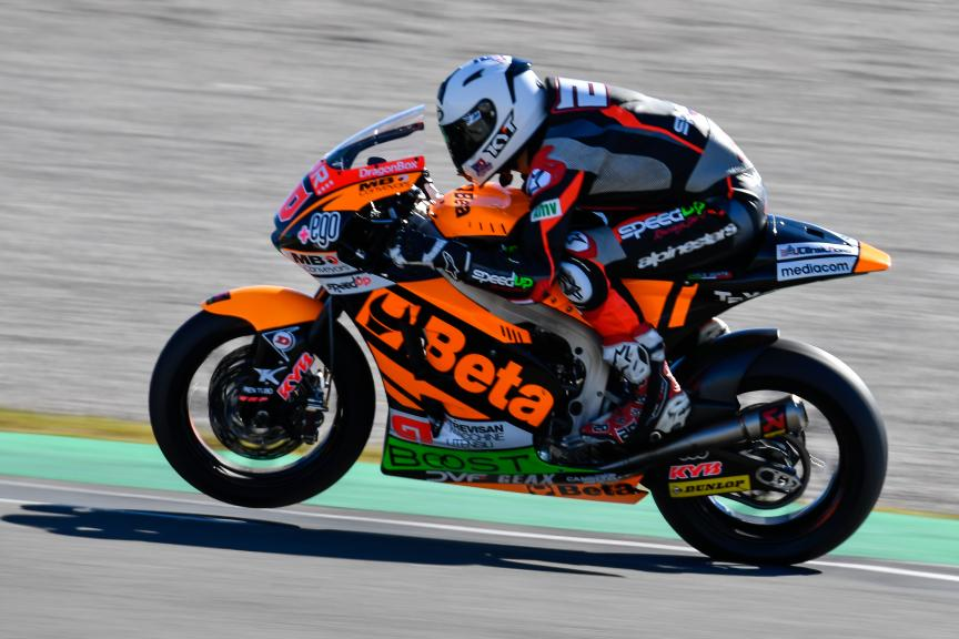 Fabio Quartararo, Beta Tools Speed Up Racing, Valencia Moto2 & Moto3 Official Test