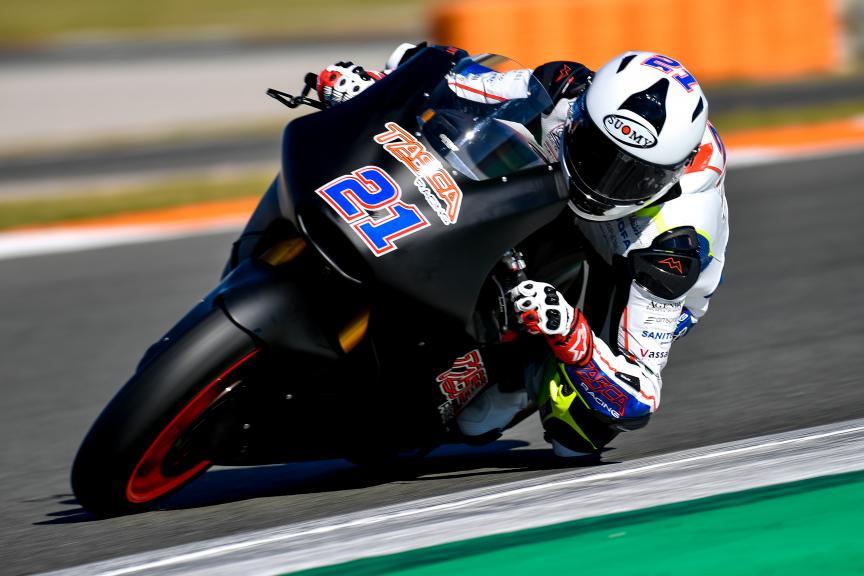Federico Fulgini, Tasca Racing Scuderia Moto2, Valencia Moto2 &Moto3 Official Test
