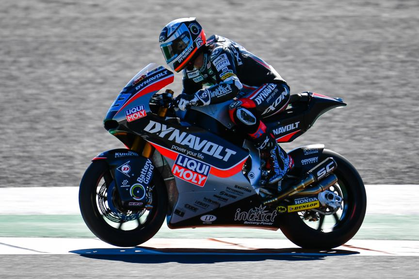 Marcel Schrotter, Dynavolt Intact GP, Valencia Moto2 & Moto3 Official Test