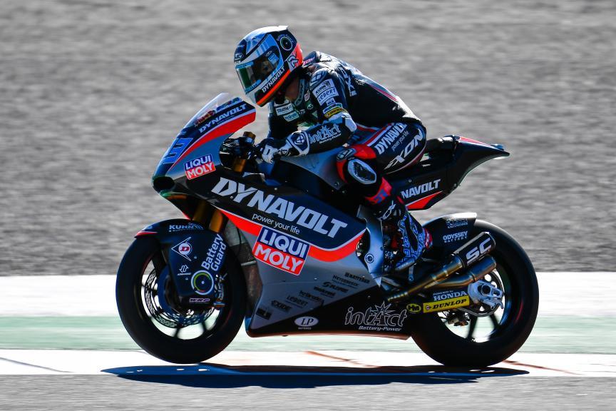 Marcel Schrotter, Dynavolt Intact GP, Valencia Moto2 &Moto3 Official Test