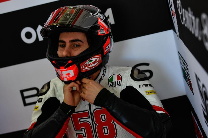 Niccolo Antonelli, SIC58 Squadra Corse, Valencia Moto2 &Moto3 Official Test