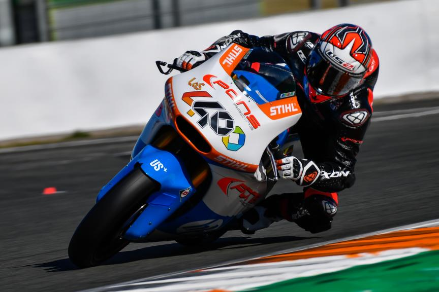 Hector Barbera, Pons HP40, Valencia Moto2 & Moto3 Official Test