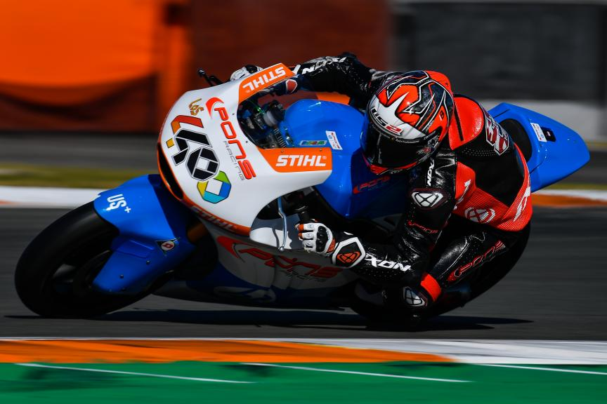 Hector Barbera, Pons HP40, Valencia Moto2 &Moto3 Official Test
