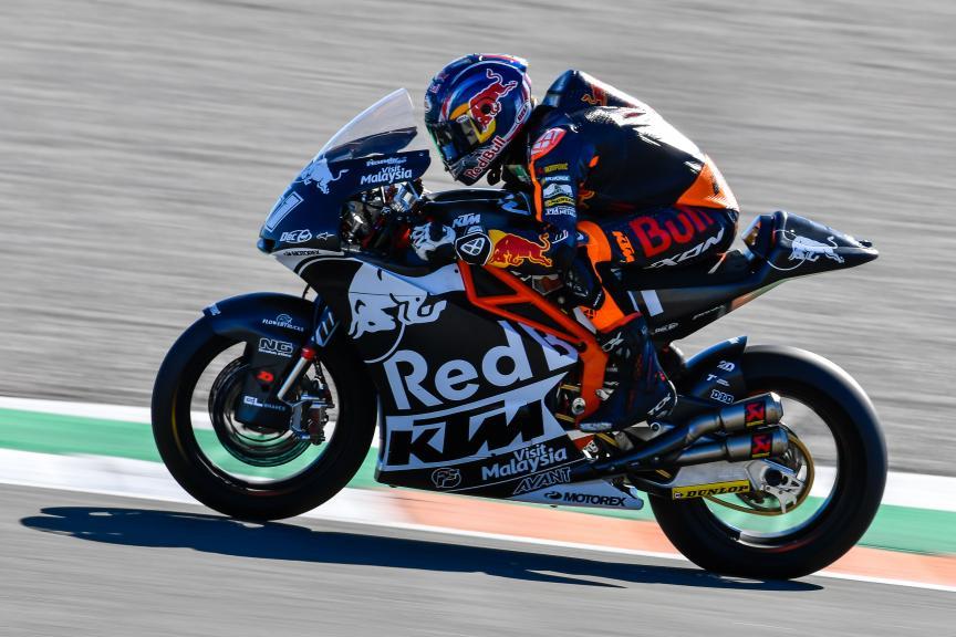 Brad Binder, Red Bull KTM Ajo, Valencia Moto2 &Moto3 Official Test