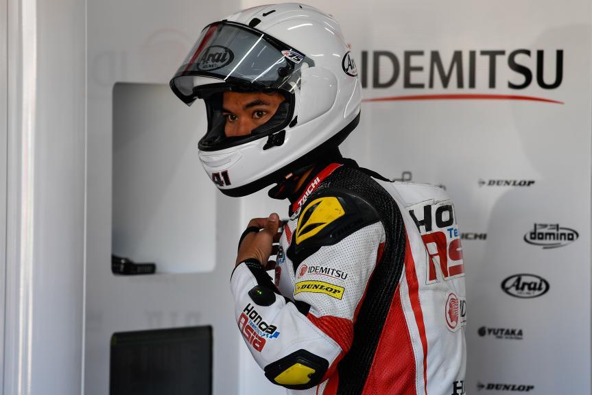 Nakarin Atiratphuvapat, Honda Team Asia, Valencia Moto2 &Moto3 Official Test