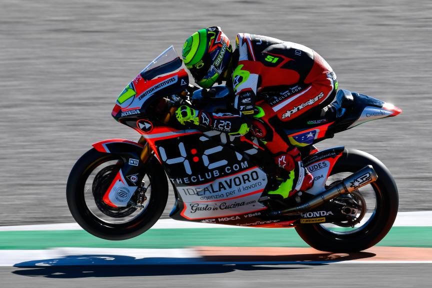 Eric Granado, Forward Racing Team, Valencia Moto2 & Moto3 Official Test