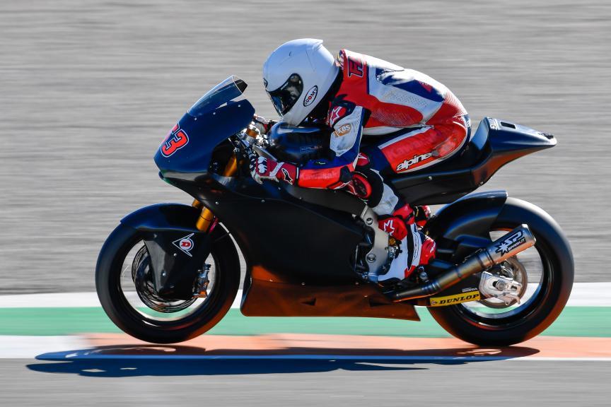 Zulfahmi Khairuddin, SIC Racing Team, Valencia Moto2 &Moto3 Official Test