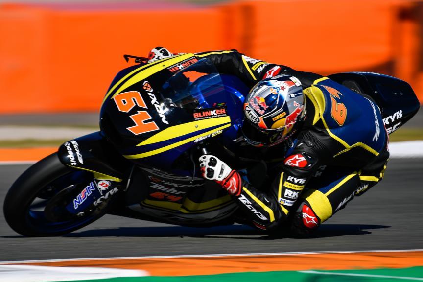Bo Bendsneyder, Tech 3 Racing, Valencia Moto2 &Moto3 Official Test