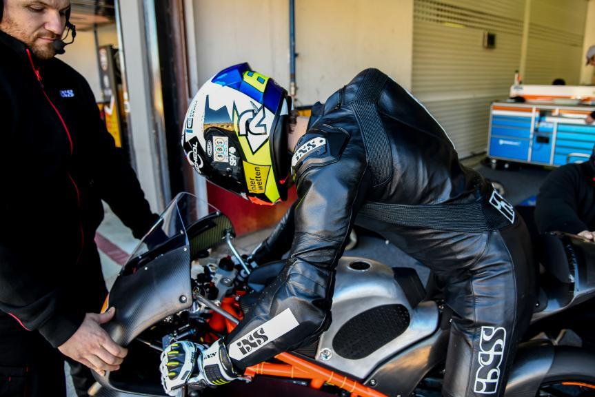 Philipp Oettl, Sudmetal Schedl GP Racing, Valencia Moto2 &Moto3 Official Test