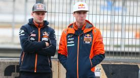 Red Bull KTM Ajo rider in Moto3™, Darryn Binder talks about his relationship with his brother and fellow Grand Prix rider, Brad