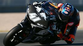 The South African rider shares his thoughts on a positive Valencia test ahead of his second Moto2™ season