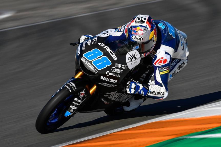 Jorge Martin, Del Conca Gresini Moto3, Valencia Moto2 &Moto3 Official Test
